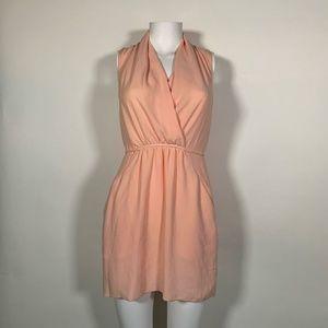 Wilfred Dress Pink salmon Halter Casual Sz XXS